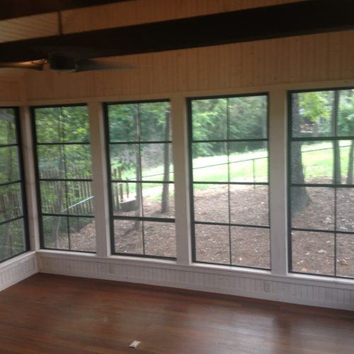Screened Rooms